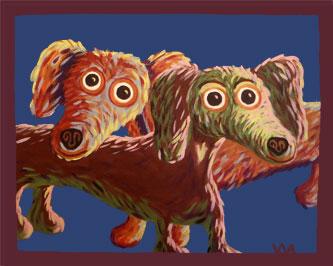 Rex & Cinnamon Dachshunds